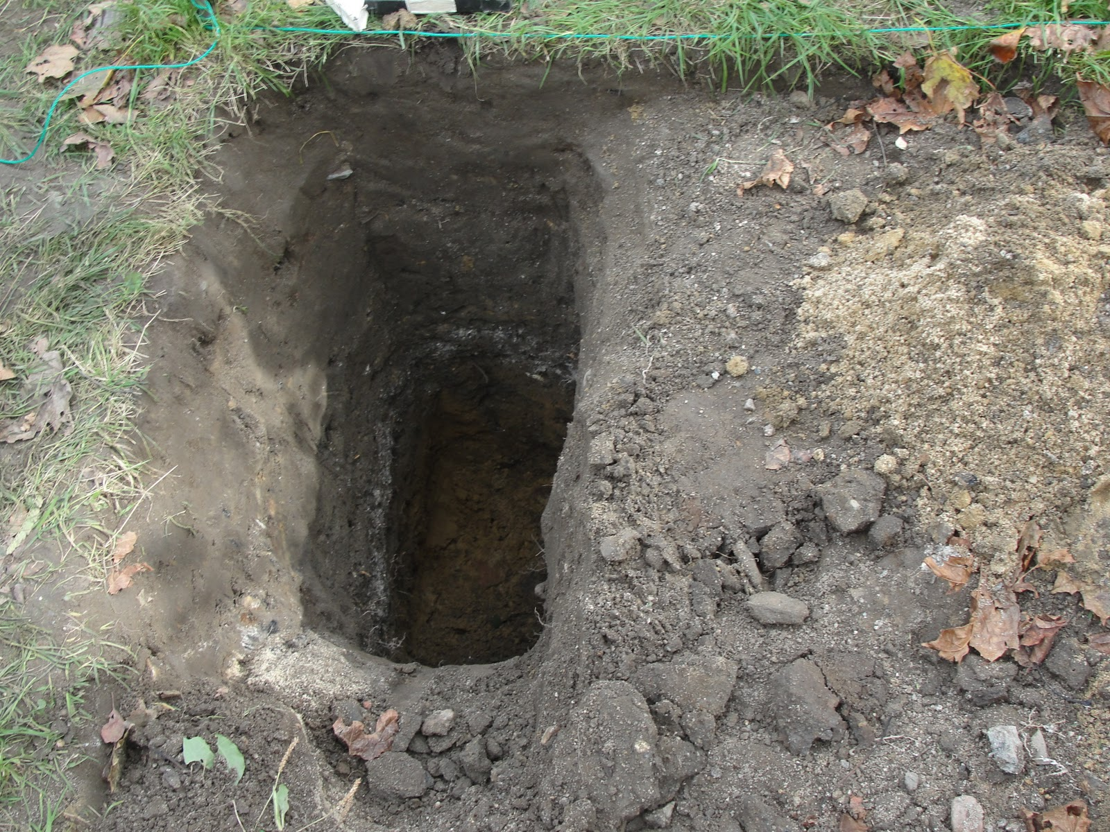 ok so back to the hole in my backyard