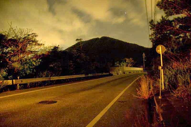 night, HWY 71, Matsuda,Ginoza,Okinawa,Japan