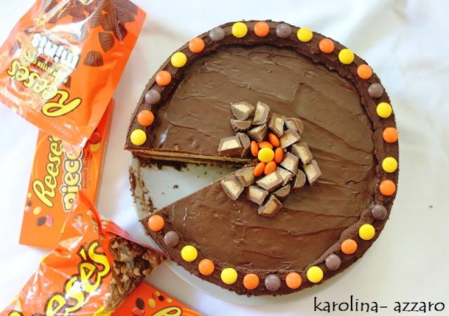 Arašidovo čokoládová torta (Reese's Cake II.)