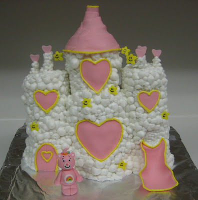 Care Bear Cloud Castle Cake 3