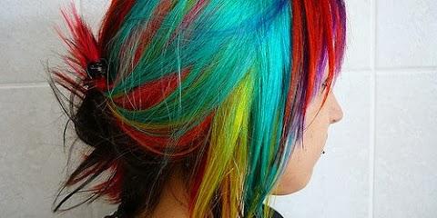 Felle kleuren -- vs normaal haar!