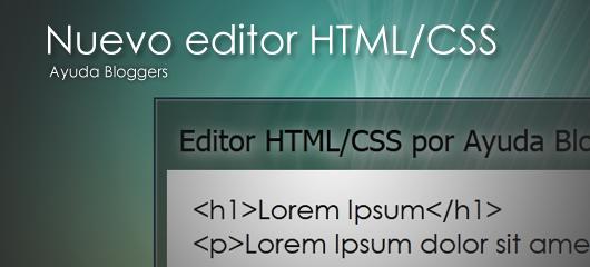 Practica tus habilidades web con este editor (Nueva versión)