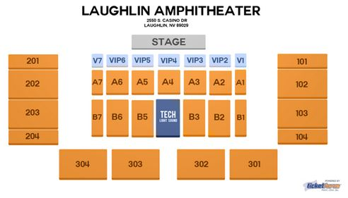Don Laughlin Celebrity Theatre Seating Chart Don