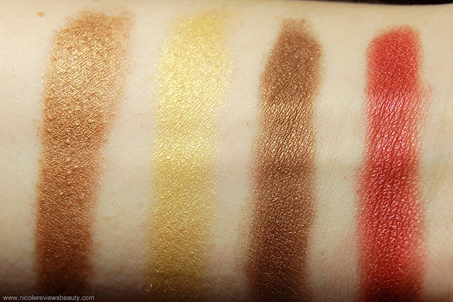 Kat Von D True Romance Eyeshadow Palette in Starstruck Swatches