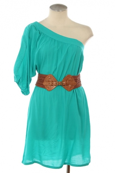 Summer Dress for women with new style nice belt