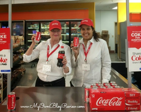 Share a Coke This Summer with Coca-cola's personalized Coke bottles and cans #ShareItForward #shop #cbias www.MyOwnBlogReview.com