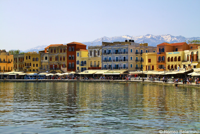 Chania and Snow Covered Mountains Things to Do in Chania Crete