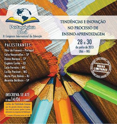 Pedagógica Ubá - II Congresso Internacional de Educação