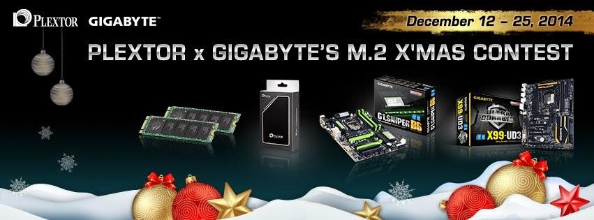 PLEXTOR x GIGABYTE M.2 XMAS CONTEST