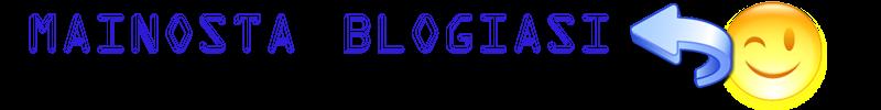 Mainosta Blogiasi / Sivujasi