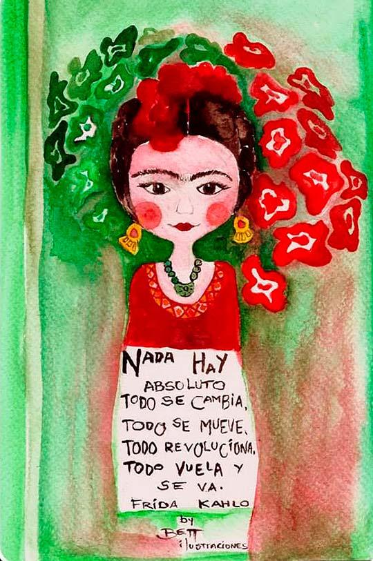 Ilustración en acuarela de Beatriz Blanca