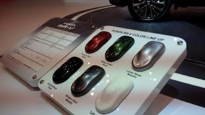 Enam pilihan warna Honda BR-V