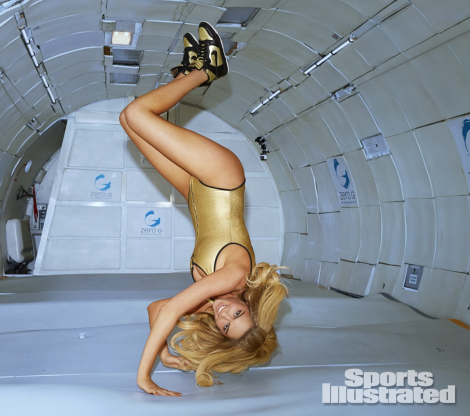 Kate Upton in Zero Gravity for Sports Illustrated