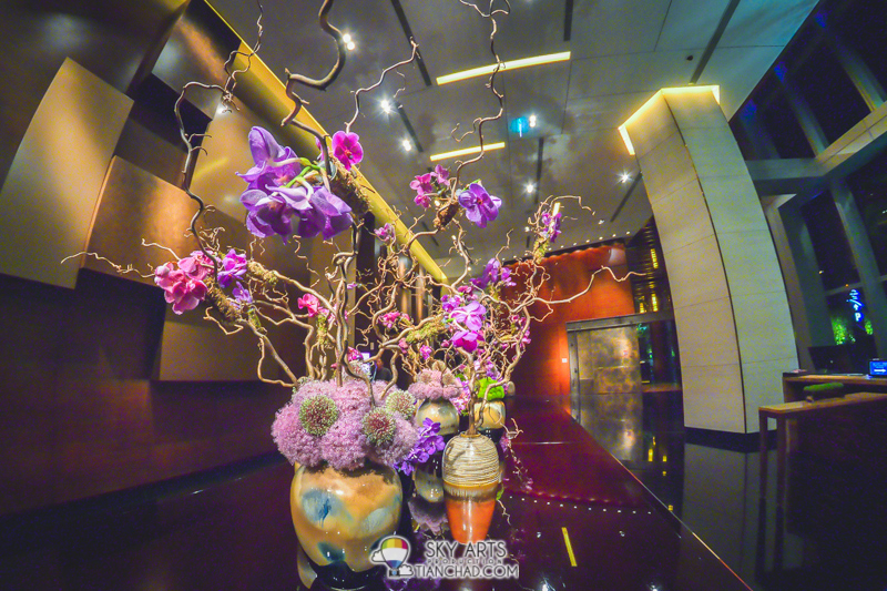 Flower deco at Grand Hyatt Macau