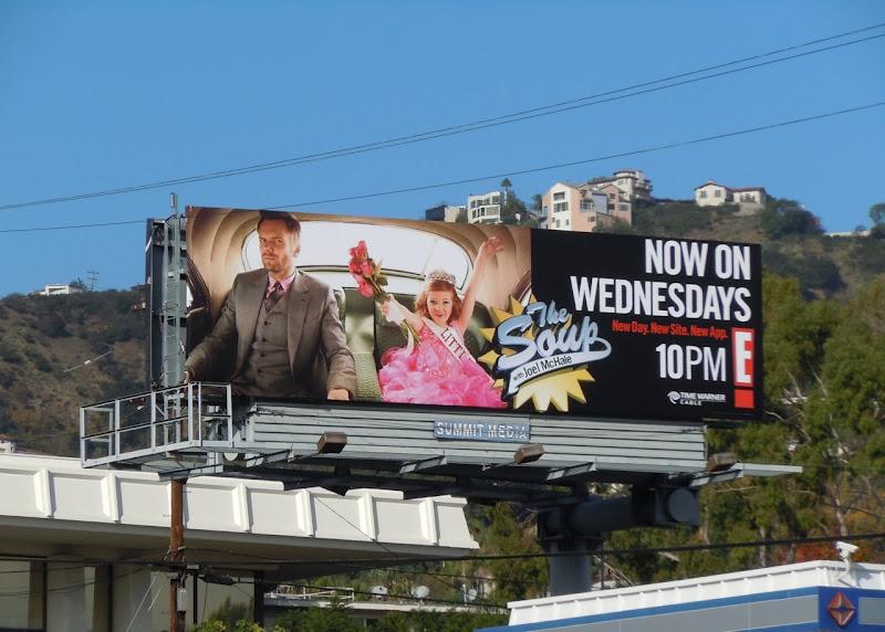 The Soup beauty pageant billboard