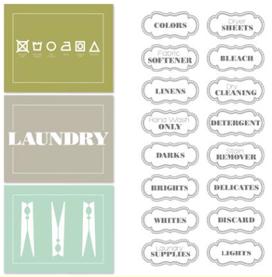 Label This Designer Template - Digital Download