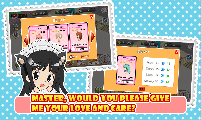 02 - Download Games Moe Girl Cafe Android Apk Asik