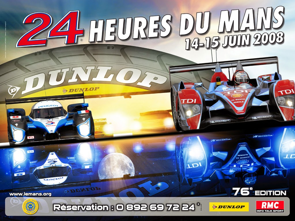 l 39 esth tique automobile les affiches officielles des 24 heures du mans. Black Bedroom Furniture Sets. Home Design Ideas