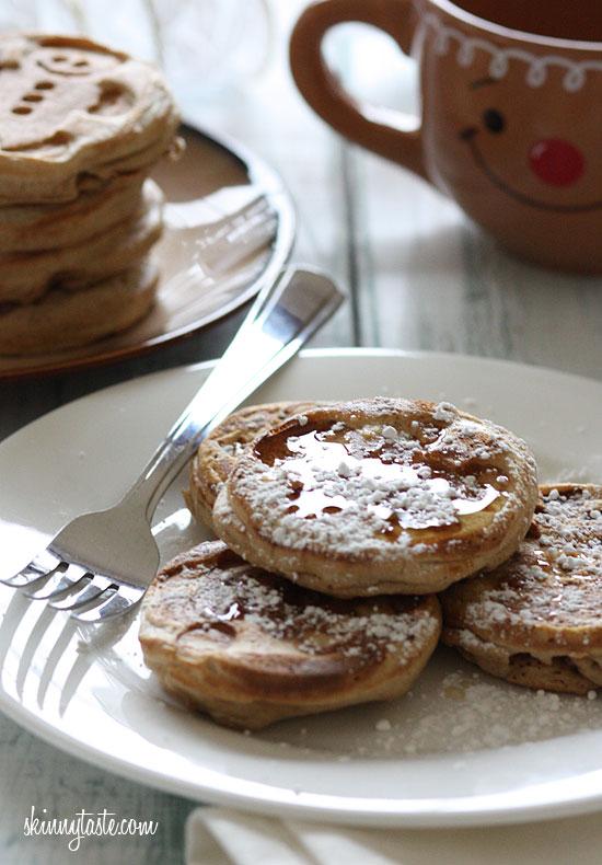 Eggnog Pancakes | Skinnytaste