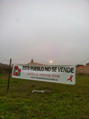 Almenara de Tormes, este pueblo no se vende, contra la reforma local