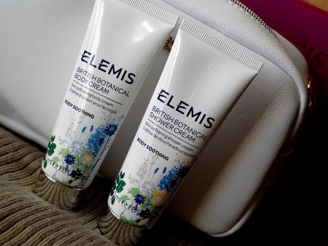 Elemis Voyage Of Discovery Set Holiday 2015 | British Botanical Shower Cream and Body Cream