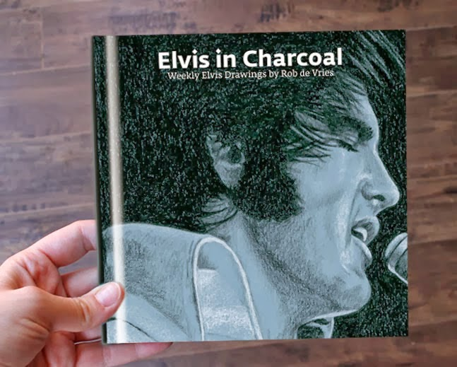 Elvis in Charcoal book