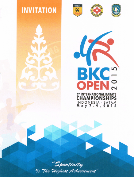 2nd BKC Open International Karate Championships 2015