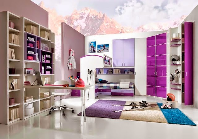 comment d corer une chambre pour fille. Black Bedroom Furniture Sets. Home Design Ideas