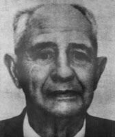 Foto do dr. James Bedford, primeiro humano a ser criogenizado