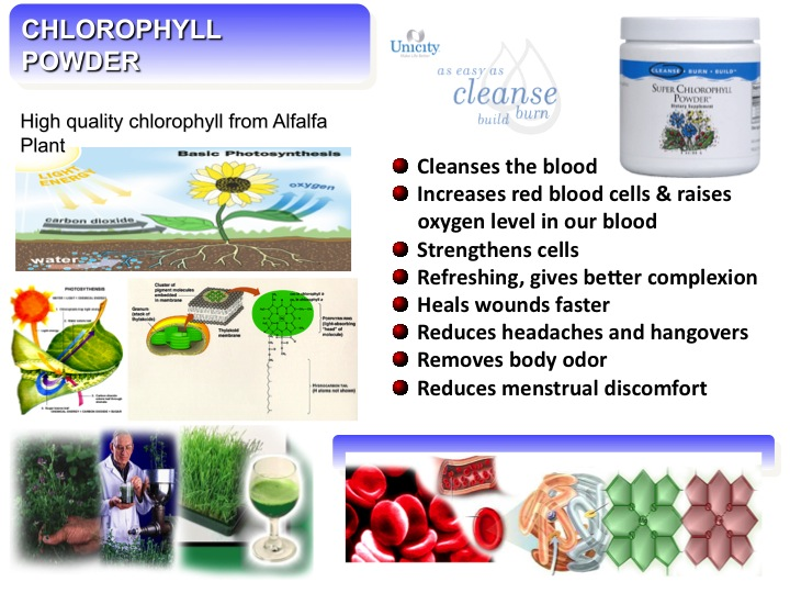 Super chlorophyll powder