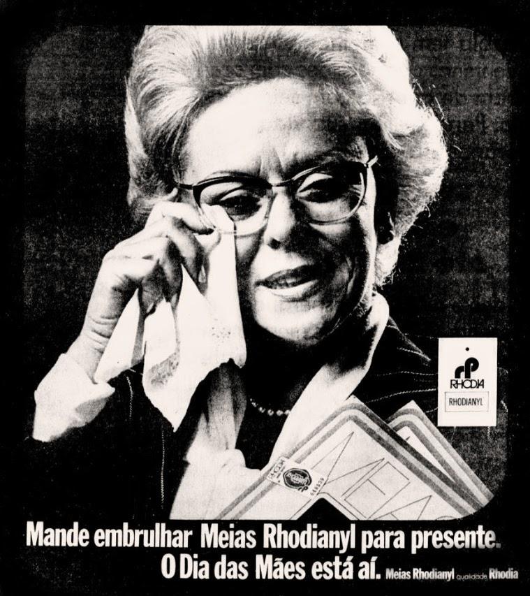 rhodia.   .década de 70. os anos 70; propaganda na década de 70; Brazil in the 70s, história anos 70; Oswaldo Hernandez;
