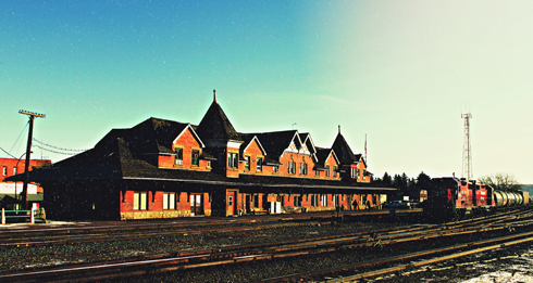 train station medicine hat alberta photography