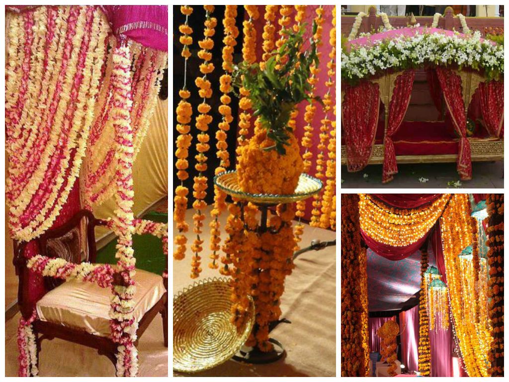 Mehndi Flower Arrangements : Mesmerize the mehndi ceremony with unique flower