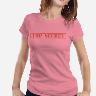 Top Secret Kaos Wanita