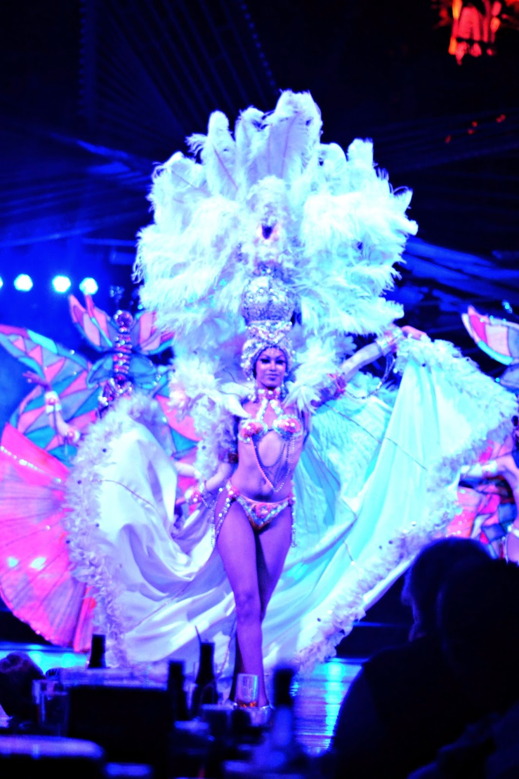 Showgirl at Tropicana Club Havana Cuba