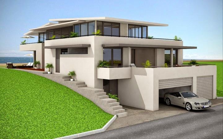 Desain Rumah Minimalis Gaya Eropa 3