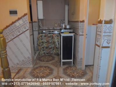 Maison F3 à louer à marsa ben mhidi plage