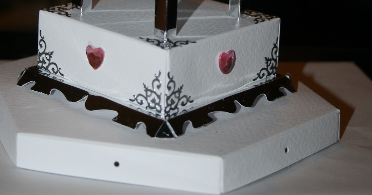 wendy dyche creations wedding cake card boxes. Black Bedroom Furniture Sets. Home Design Ideas