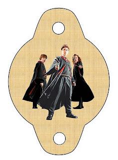 imprimible gratis de Harry Potter para poner en las pajitas, pajillas o popotes