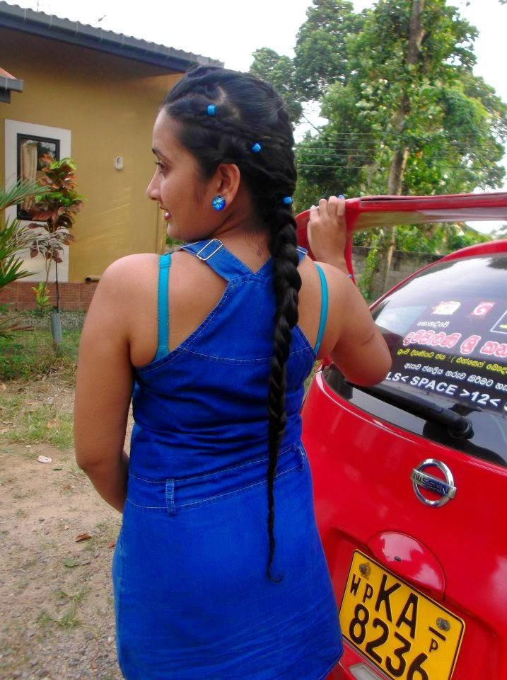 madhu nithyani blue back