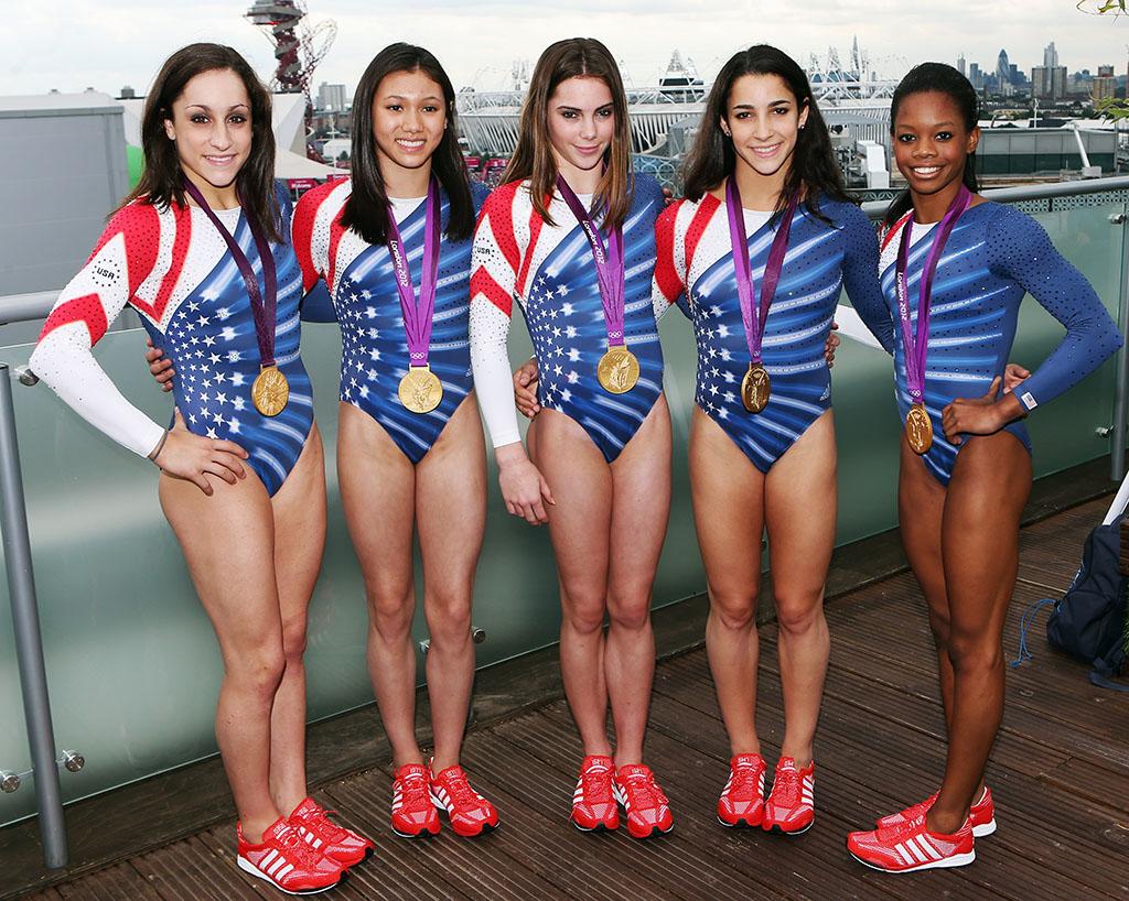 NWK to MIA: U.S. Women's Gymnastics Team Stops by adidas ...