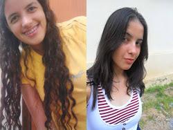 Minhas filhas Tatianne e Vanêssa. Presentes de DEUS.