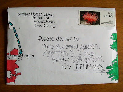 Mail art, Pen pals, Snail mail, That's the way the cookie crumbles.