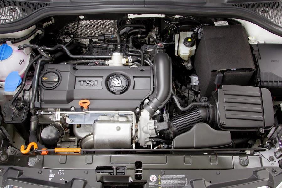 Skoda Yeti cu motor TSI benzina