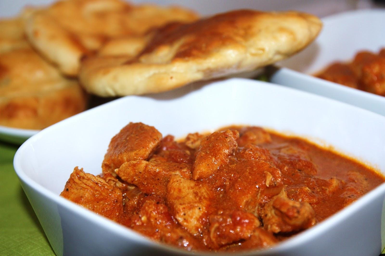 Cooking With Love Kurczak Tikka Masala I Chlebki Naan
