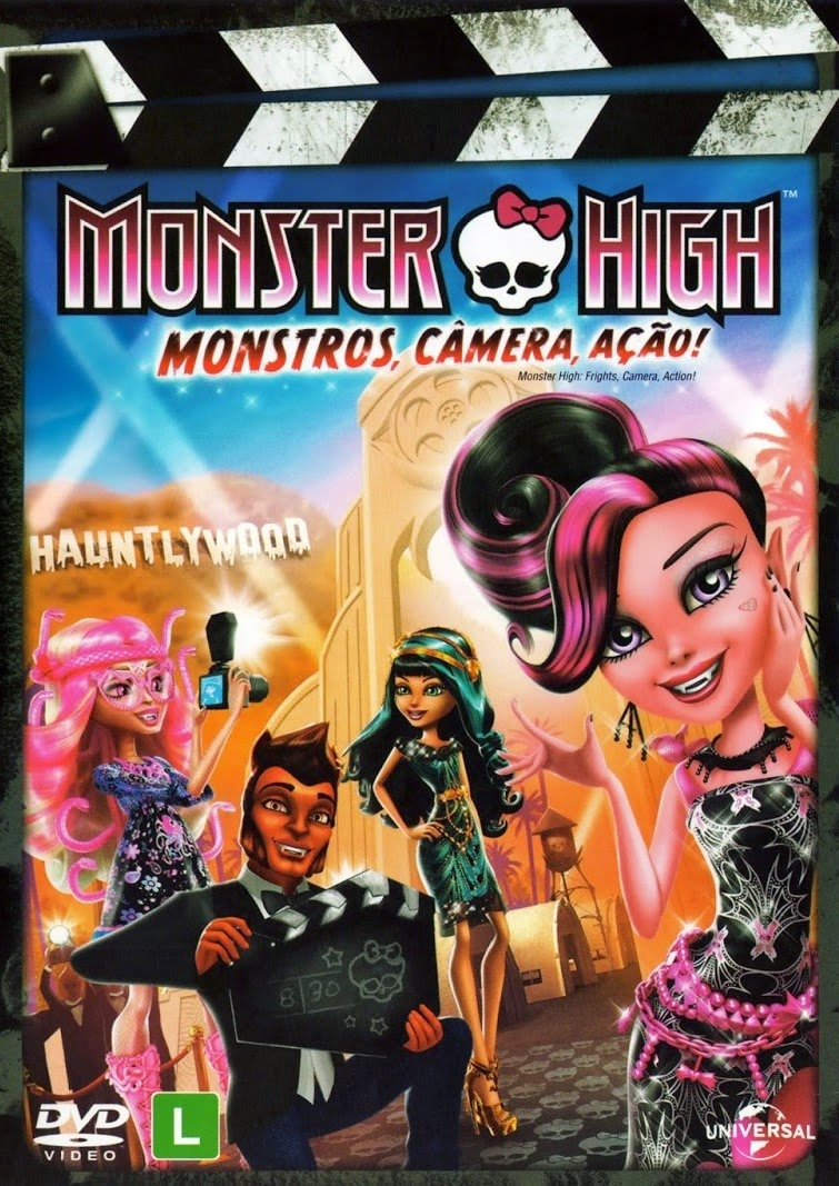 Monster High: Monstros, Câmera, Ação – Dublado (2014)
