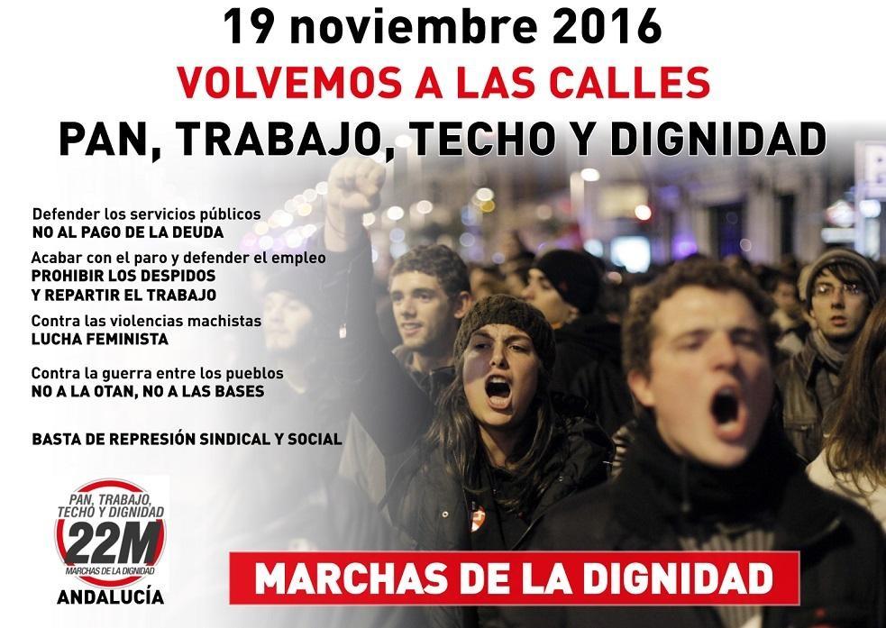 Manifestación Andaluza en Sevilla