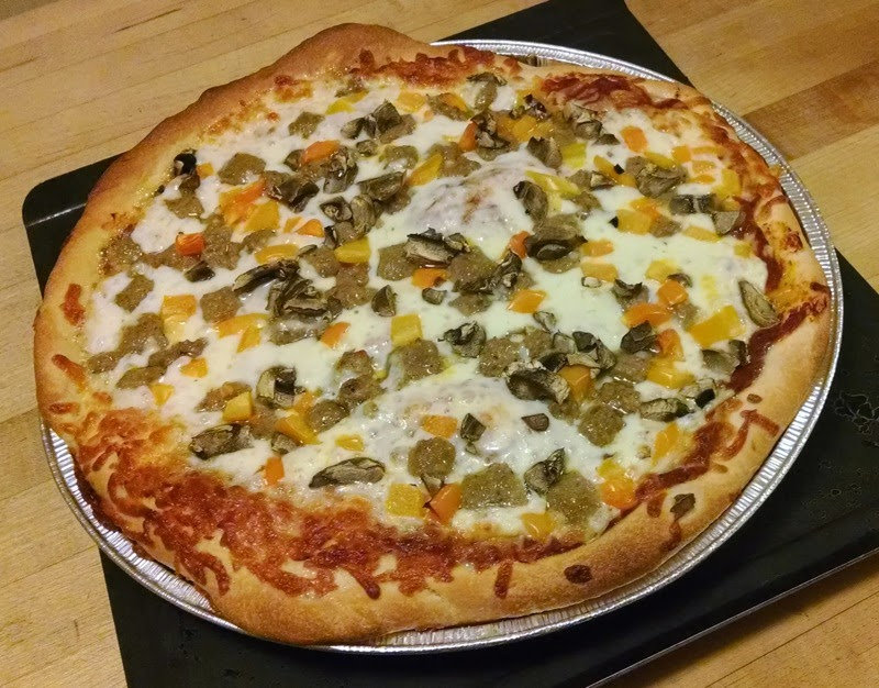 Papa Murphy's pan pizza