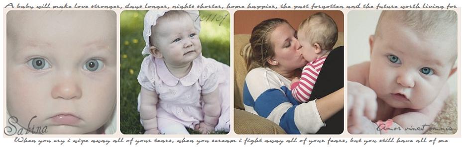 Anja - 18 år & mamma till Sabina ♥