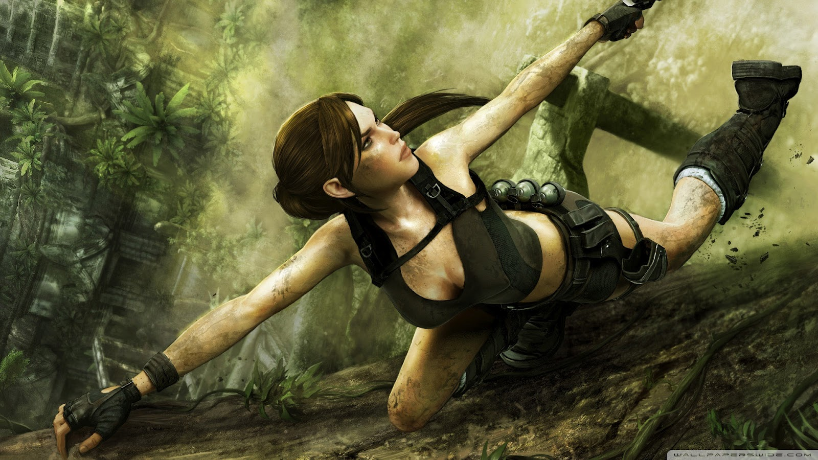 Tomb Raider HD & Widescreen Wallpaper 0.833365169955493
